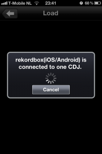 Rekordbox App CDJ Connection 1