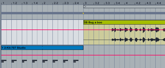 Ableton Live Arrangement View