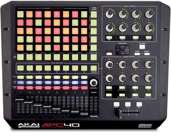 AKAI APC 40 MIDI Controller for Ableton Live