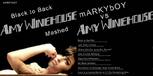 Amy Winehouse - Black to back (mARKYbOY Mashup)