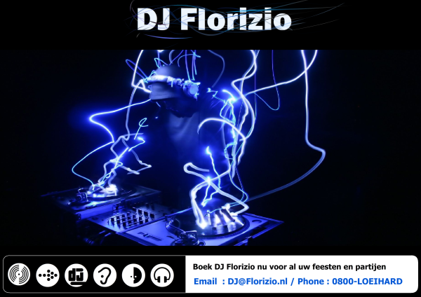 Birthday DJ Poster