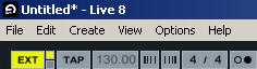 Ableton Live Sync Signal
