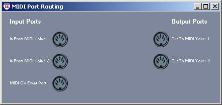 MIDI Port Routing