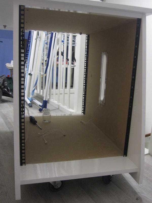 DIY Design Studio Console/Desk