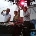 Armin van Buuren with Dutch Crown Prince Willem-Alexander and Crown Princess Maxima